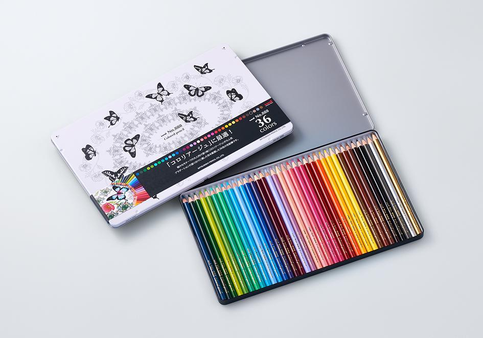 色鉛筆 No88836色セット2015年プレスリリース三菱鉛筆株式会社